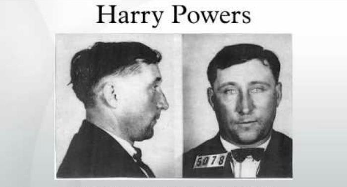 harry powers mugshot