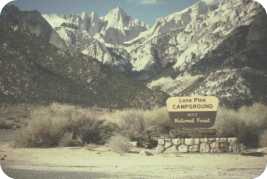 lone pine campground